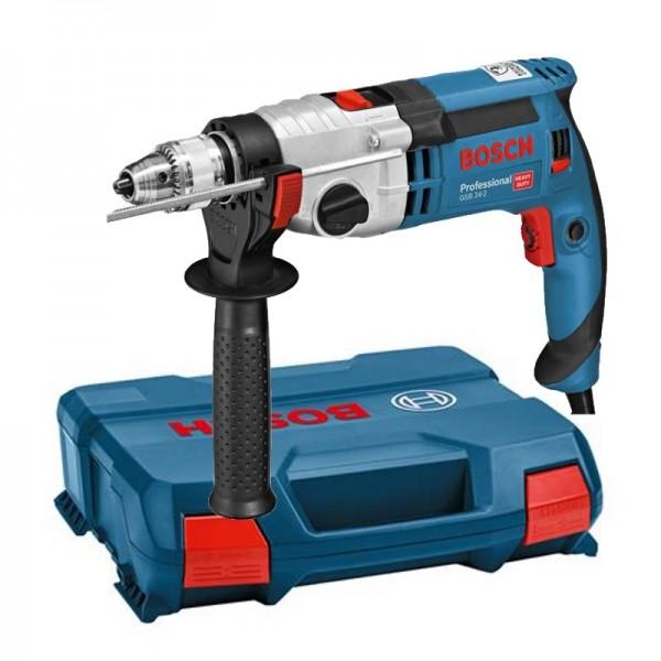 Bosch Schlagbohrmaschine GSB 24-2 - L-Case - 2,9kg - 1100 Watt - 2-Gang