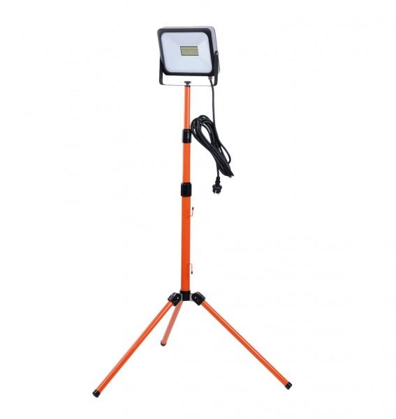 HM Müllner LED Arbeitsleuchte SLIM mit Stativ - 50 Watt - 4000 Lumen