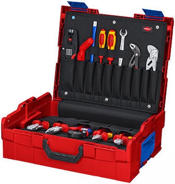 Knipex L-BOXX® Elektro 00 21 19 LB E - 7,8kg - 63-teilig - bestückt