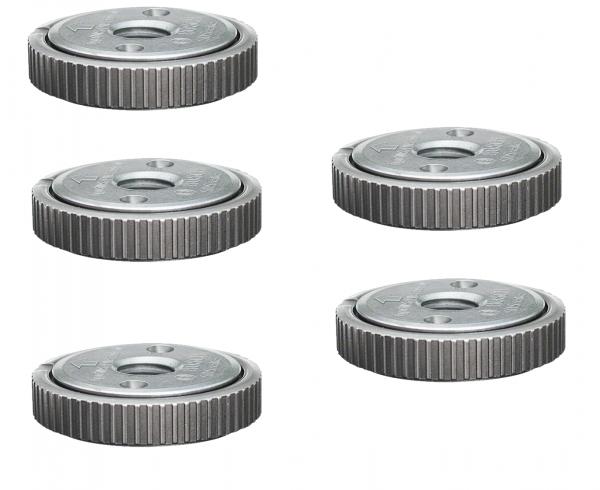 5x Bosch Professional Schnellspannmutter SDS-Clic Gewinde M14