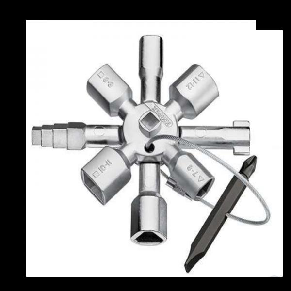 KNIPEX TwinKey® 001101 - für gängige Schränke und Absperrsysteme