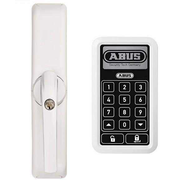ABUS Funk-Fenster-Komfortantrieb - FCA 3000 W - Funk-Tastatur CFT 3000 W - Weiß