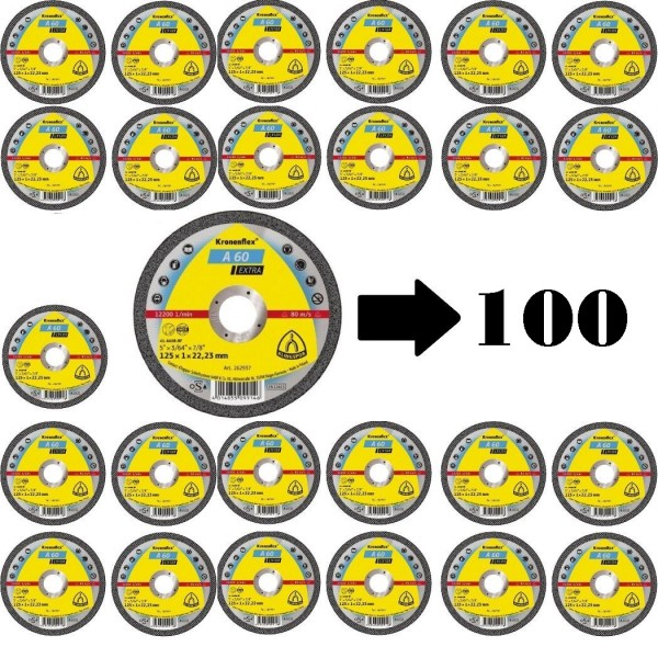 Klingspor 100 Trennscheiben A 60 EX - 125 x 1.0