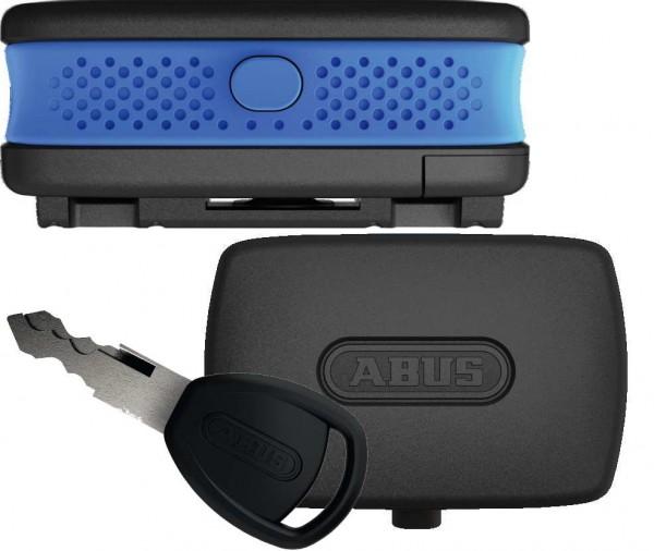 ABUS Alarmbox blau 82364 - inkl. CR2 Batterie - 100dB 15 Sekunden - 370gr