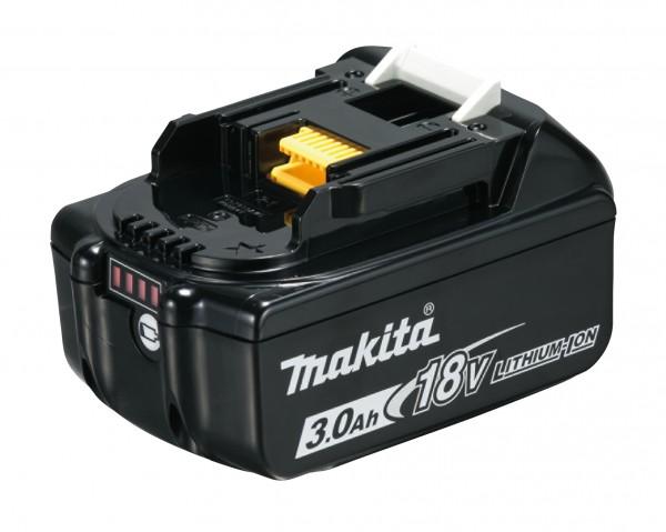 Makita Ersatzakku BL1830B 18V 3,0 Ah - LED Ladestandsanzeige