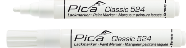 Pica Classic - Industrie Lackmarker - weiß - 524/52