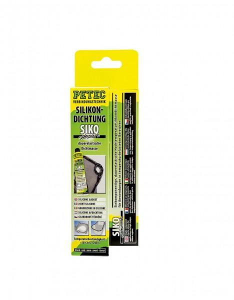 Petec 97780 Hochtemperatur-Silikondichtung SIKO schwarz - 70ml Tube