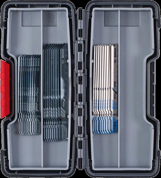 Bosch Stichsägeblätter 30-teilig - Holz und Metall - in Box
