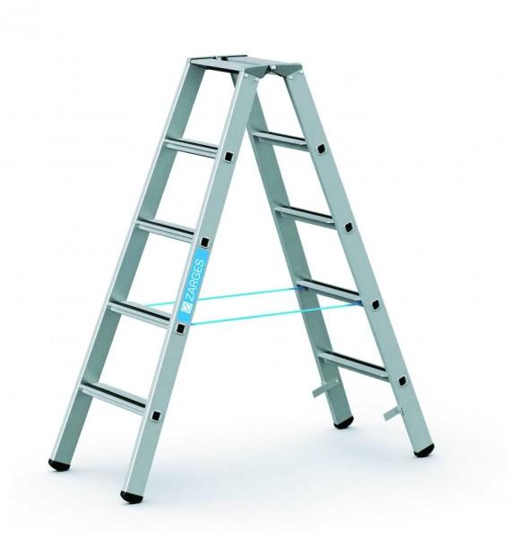 ZARGES Stehleiter Saferstep B - 41305 - 5 Sprossen - Leiterhöhe 1,32 Meter