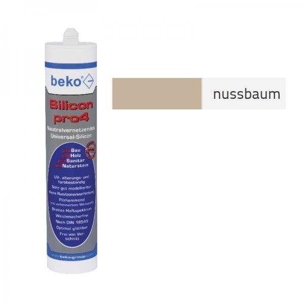 Beko pro4 Premium-Silicon 310ml - nussbaum