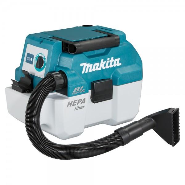 Makita Akku Staubsauger DVC750LZX3 - 7,5L - nass/trocken - 18V - ohne Akku/Ladegerät